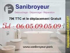 Plombier Sanibroyeur Bouché